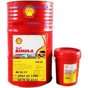 Dầu động cơ Shell Rimula R2 Extra 20W50