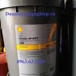 Dầu bánh răng tổng hợp Shell Omala S4 GXV 150