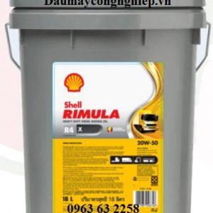 Dầu động cơ Shell Rimula R4 X 20W50